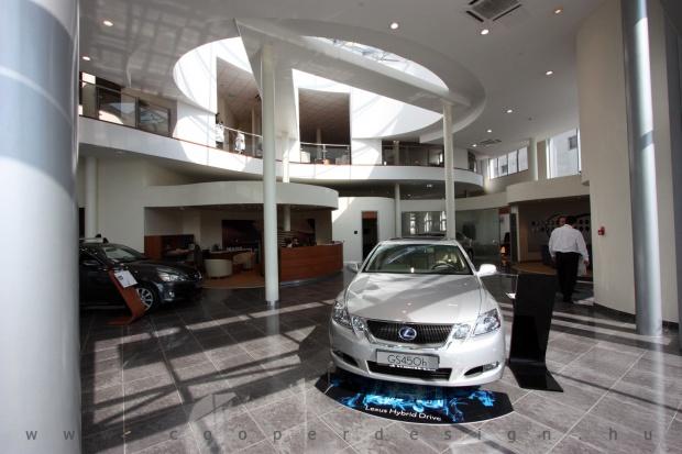 Lexus Buda autószalon belsőépítészete 65