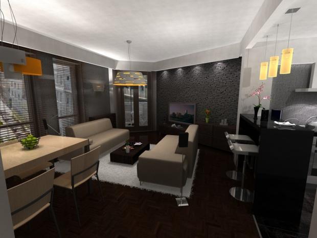 Magánlakás belsőépítészeti látványterve 8