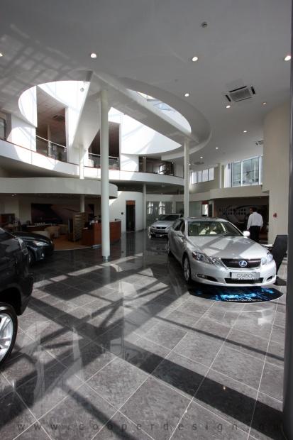 Lexus Buda autószalon belsőépítészete 70