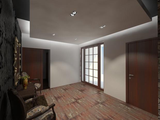 Magánlakás belsőépítészeti látványterve 6