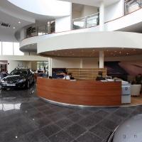 Lexus Buda autószalon belsőépítészete 4