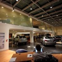 Lexus Pest autószalon belsőépítészet 17