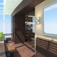 Családi ház belsőépítészeti látványterve 7