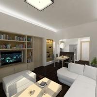 Magánlakás belsőépítészeti látványterve 2