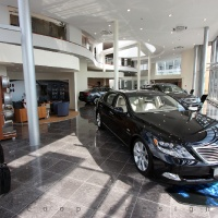 Lexus Buda autószalon belsőépítészete 28