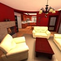 Családi ház belsőépítészetének felújítási terve