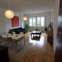 garzonlakás belsőépítészete, nappali-étkező 2