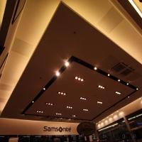 Reálszisztéma Menedzser Shop belsőépítészete, álmennyezet és világítás 3