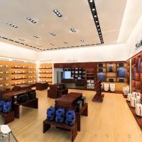 Reálszisztéma Menedzser Shop berendezett belsőépítészeti látványterve