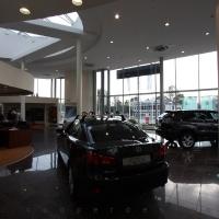 Lexus Buda autószalon belsőépítészete 51
