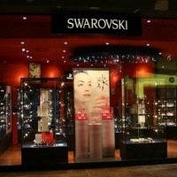 Swarovski márkabolt kirakata
