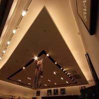 Reálszisztéma Menedzser Shop belsőépítészete, álmennyezet és világítás 2