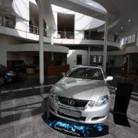 Lexus Buda autószalon belsőépítészete 68