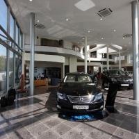 Lexus Buda autószalon belsőépítészete 62